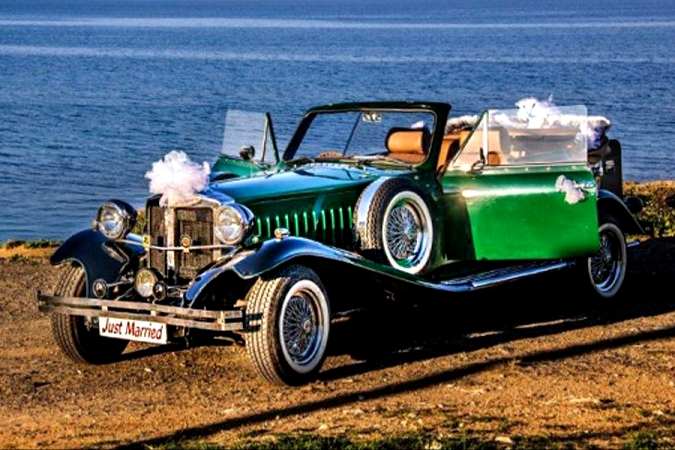 Rolls Royce 1930 Green